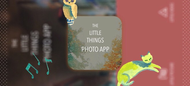 The Little things photo app