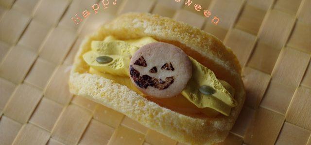 ハロウィン菓子の明暗撮影